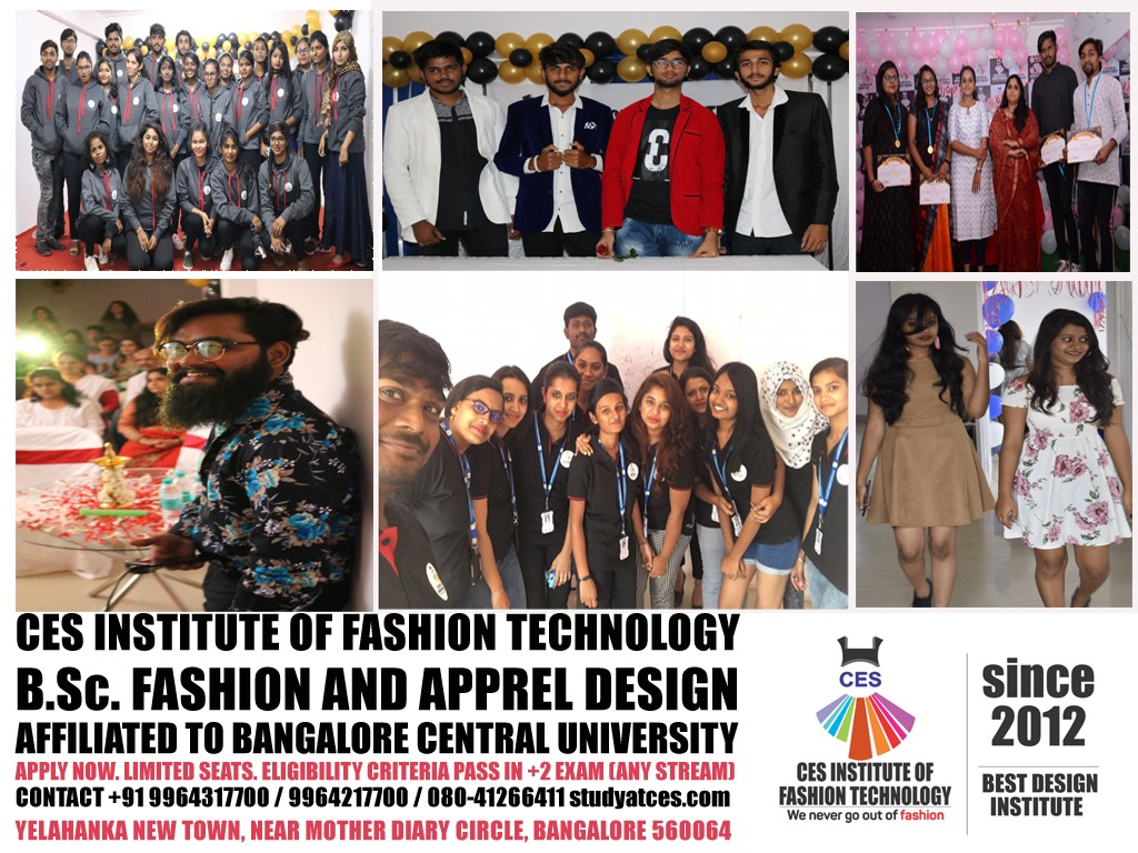 Best Fashion Institute In Bangalore Ces Institute Of Fashion Technology